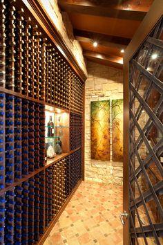 spanish oaks mediterranean wine cellar home wine cellars wine rooms architecture interiors