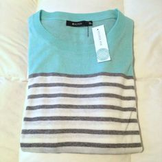 41Hawthorne Rowson colorblock sweater -- SF stylist - like this in the nice, soft colors, I think it could be style for work or casual wear and across a variety of seasons
