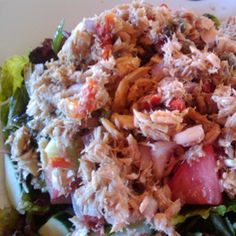 Tuna Salad with Capers and Sundried Tomato – The Foodee Project- SWITCH THE TUNA FOR CHICKEN YUM