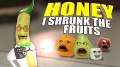 Annoying Orange - Honey I Shrunk The Fruits