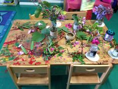 Making corsages and bouquets using nature - Only About Children ≈≈