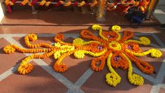 My Flower Rangoli