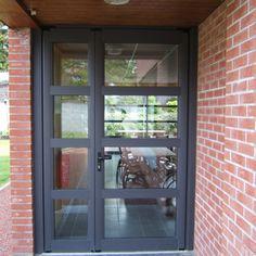 Windowseco : Porte d'entrée vitrée, Louvain-la-Neuve, Brabant-Wallon, Belgique | Windowseco