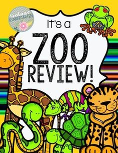 Are you getting ready to visit the zoo?  Use this print and go pack to tie the zoo and review together.  Practice core math and language skills with a little fun thrown in!