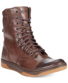 Diesel Tatradium Basket Butch Zip Boots - Shoes - Men - Macy\'s