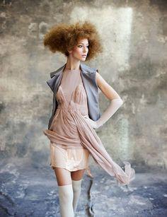 Disa Vu Rum | Alana Zimmer | Arthur Elgort #photography | Vogue Turkey March 2010