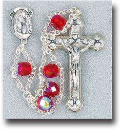 Garnet Ladder Rosary by Hirten | Catholic Shopping .com
