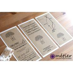 zaproszenie ślubne Eko Drzewo