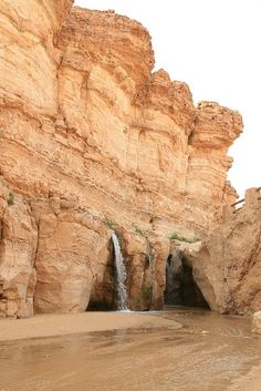 Tamerza (or Tameghza, تمغزة) is the largest mountain oasis in Tunisia, known as Ad Turres by the Romans. It has a pleasant canyon and has an abandoned old town. The town was abandoned after the river flooded for 22 days in 1969. It is located north of the salt lakes and receives fresh water from the nearby hills. It is in the hillcountry near the border with Algeria, and is 6km from Mides.