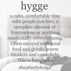 The word on everyone's lips right now. On the blog this week I'm talking about how you can incorporate a little Hygge in your home www.heatherlydesign.com.au Warm Blankets, Upholstered Beds, Storage Boxes, Hygge, Lips, Personalized Items, Words, Happy, Blog