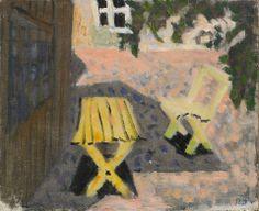 Ragnar Sandberg (1902-1972) Trädgårdsmöbler, 1939