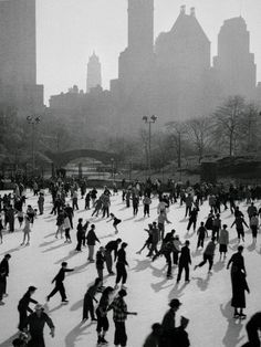 Ice Skating in Central Park:  Great memories with great friends...better views, bigger rink, and much more fun than Rockefeller Center!!!
