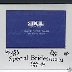 "Special Bridesmaid Photo Frame - 5""x3.5"" by Shudehill, http://www.amazon.co.uk/dp/B000W4BMBU/ref=cm_sw_r_pi_dp_54fHtb0DBEDVP"
