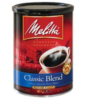 Save $1.00 on Melitta Coffee with this Tear Pad Coupon Expires December 31