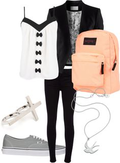 """back to school outfit????"" by mammothmadi on Polyvore"