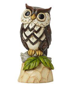 Look what I found on #zulily! Woodland Owl Figurine #zulilyfinds