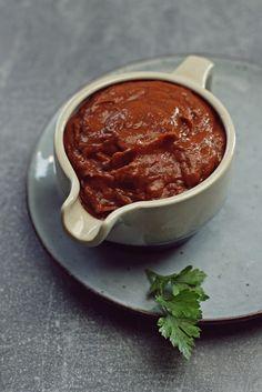 Sos z pieczonych warzyw. Prosty, przepyszny, idealny! Food And Drink, Pudding, Vegan, Recipes, Cooking Ideas, Sauces, Dinners, Kitchen, Dinner Parties