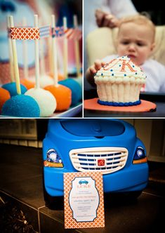 Little Blue Car Birthday {BEEP! BEEP!}
