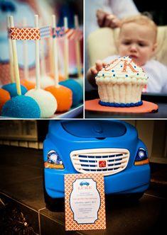adorable toddler (boy) birthday party