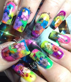 47 Best Colorful Nails Images On Pinterest Colorful Nail Colorful