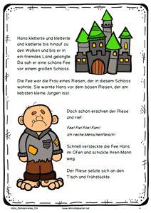 Hans und die Bohnenranke (Jack and the Beanstalk)