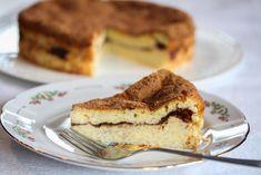 Risengrynskake med sukker og kanel Exotic Food, No Bake Cake, Baked Goods, Tiramisu, Cake Recipes, French Toast, Sandwiches, Pudding, Snacks