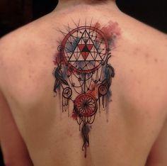 Victor Montaghini: aquarelas, sketches e muito estilo em suas tatuagens contemporâneas - Follow the Colours