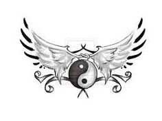 Image result for yin yang wings tattoos