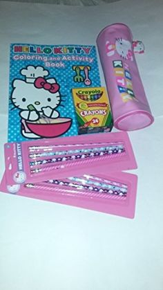 Hello Kitty Coloring and Activity Book and Accessory Bundle >>> Click image to review more details.Note:It is affiliate link to Amazon.