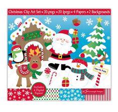 Festif Arbre de Noel Santa Wreath Hiver Noël Thème Fête Cupcake Wrappers x12