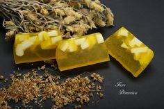 Σαπούνι με εκχυλίσμα χαμομηλιού Body Soap, Soaps, Desserts, Hand Soaps, Tailgate Desserts, Deserts, Postres, Lotion Bars, Dessert