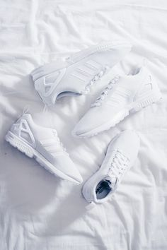 Adidas Zx Flux Triple White