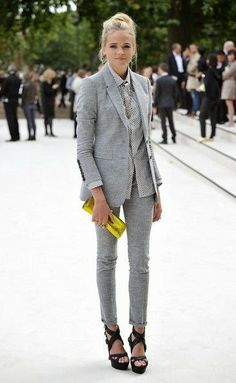 Outfit Inspiration: The Power Suit