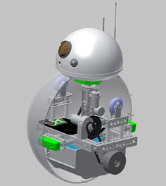 A team of engineers and artists methodically creates a BB-8 that looks, moves, and sounds like the real thing.