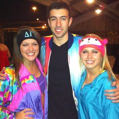 """80s in Aspen"" theme #sorority #mixer #social"