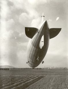 LZ 127 Graf Zeppelin near Csepel, Hungary, 1931