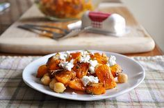 Little B Cooks: Chronicles from a Vermont foodie: Chickpea & Butternut Squash Salad