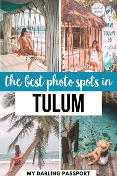 Here's The Best Photo Spots in Tulum. The Ultimate Tulum Mexico Photo Guide: all the best Instagram spots in Tulum. Plus get all the tips to get the best shots! #tulum #mexico Mexico Vacation, Mexico Travel, Maui Vacation, Best Travel Guides, Travel Tips, Travel Advice, Travel Ideas, Travel Around The World, Around The Worlds