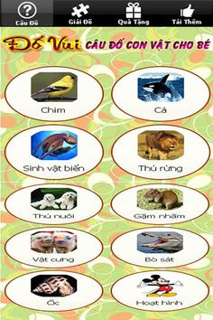 You want to help your baby knows most of the animals who live in the natural world?<br>Do you want to teach your kids not only know a lot of animals in the natural world, but they can also learn more and improve their vocabulary about animals?<br>You've come to the right place, the software puzzle guessing animal quiz for baby 'Animal Learning Games for Kids FREE - 100 questions quiz for kids to learn about animal!'  includes a lot of familiar, funny and lovely house and wildlife animals…