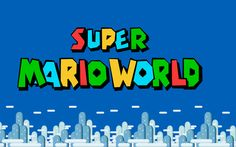 Super Mario World (was)1920x1200 gif by Goomba_Smackdown | Photobucket