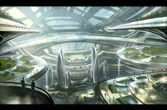 Science Fiction, Sci Fi, Futuristic, Future City