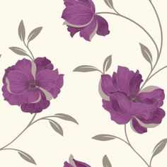 Arthouse Opera Charleston Purple Wallpaper, 5050192407236