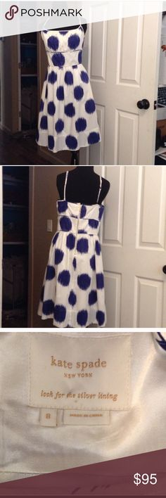 "Kate Spade strapless dress size 8 EUC Authentic Kate Spade strapless dress size 8. Lined. No rips or stains or any other defects. I love this dress! It's a little too tight on me now:( knee length. 32"" in length from top of bust to hem. Perfect for summer or a summer wedding:) kate spade Dresses Midi"