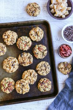 Gluten-Free Pumpkin Cookies (3 ways!) refined sugar-free, dairy-free, and healthy