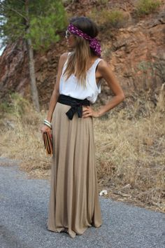 Maxi Skirt Lovin' {via Seams for a Desire}