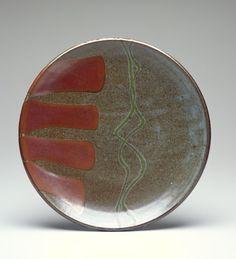 Warren MacKenzie (American, b.1924) Warren Mackenzie, Pottery Marks, Ceramic Plates, Simple Way, Ceramics, Sculpture, American, Store, Pottery Plates