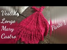 Vestido Mary Castro - PAP em Crochê - YouTube Knitting Videos, Crochet Videos, Crochet Summer Dresses, Crochet Clothes, Plaid Scarf, Knit Crochet, Crochet Patterns, Formal Dresses, Women