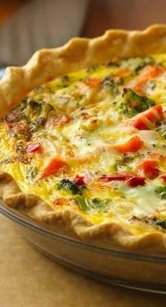 Italian pepperoni-vegetable quiche - Want to prepare it yourself? click on the image!