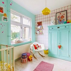 eclectic kids' rooms (via Bloglovin.com )