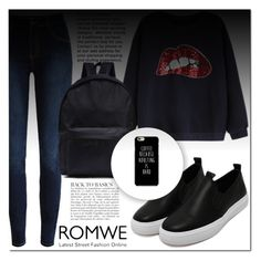 """ROMWE #7"" by mini-kitty ❤ liked on Polyvore featuring Anja and romwe"